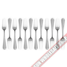 STANLEY ROGERS Baguette 12 Piece Pastry Cake Fork Set 18/10 Stainless Steel!