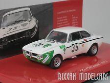 ALFA ROMEO GTA 1300 JUNIOR JARAMA 1972 #35 COLZANI 1/43 MINICHAMPS 436721235 NEU