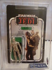 Star Wars ROTJ 65 Back Palitoy C-3P0 UKG 90 MOC Carded WOW Case Fresh