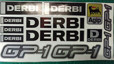 Derbi GP1 stickers SM supermoto 50 125 GP-1 GP 1 black & silver