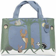 CICCIA - 'FOREST FRIENDS' SIGNATURE GRAB BAG IN DARK BLUE - RRP £130