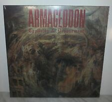 LP ARMAGEDDON - CAPTIVITY AND DEVOURMENT - NUOVO - NEW