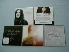 CHARLENE SORAIA job lot of 5 promo CD singles Broken Caged Ghost EP