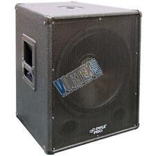 """PylePro 1000 Watt 18"""" Stage DJ Pro PA Subwoofer Cabinet Heavy Duty 8 Ohms PASW18"""