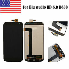 USA For Blu studio HD 6.0 D650 D650a LCD Display Touch Digitizer Screen Assembly