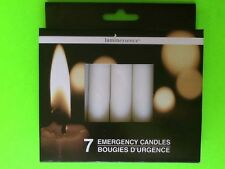 Box of 7 Emergency Candles Survival Power Loss Natural Disaster Prepper
