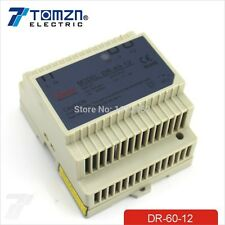 60W 12V 5A Din Rail Single Output Switching power supply