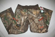 Under Armour ColdGear Storm Hunting Ayton Pants Realtree Youth L NEW