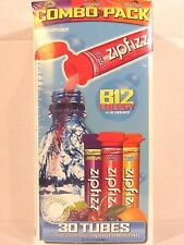 zipfizz Healthy Energy with Vitamin B12 Drink Mix, Combo Pack, 30 Count