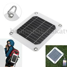 5W 5V Cell Solar Panel Module Battery Charger Backup For iPhone Samsung Camping