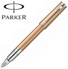 Parker Ingenuity Pink Gold PVD Chrome Trim Fountain Pen -Med Nib- SO959140