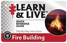 UST Fire Building How-To Quick Reference Cards
