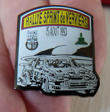 RARE BEAU PIN'S VOITURE RALLYE FORD ESCORT RS COSWORTH SPRINT DE VERVIERS 1993