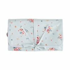 Cath Kidston Roll Wash Bag Kingswood Rose Blue BNWT RRP £28