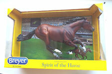 Breyer FRANKEL Smarty Jones Mold – Bay Race Horse - NIB FREE USA SHIP