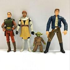 "3.75"" Star Wars Padme Amidala, Obi-Wan Kenobi, Yoda, HAN SOLO action figure Toy"