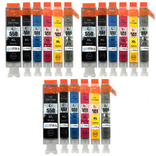 18 Ink Cartridges for Canon Pixma iP8750 MG6350 MG7150 MG7550 MX925