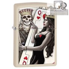 Zippo 29393 King & Queen of Hearts Lighter with PIPE INSERT PL