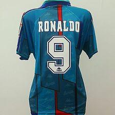 Barcelona Shirt Ronaldo 9 (XL) 1996/1997 adulto lontano FOOTBALL JERSEY RARE BARCA
