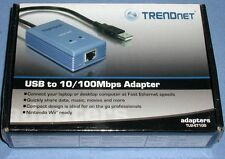 Trendnet TU2-ET100 USB to 10/100 Mbps Ethernet Adapter ** NEW IN BOX