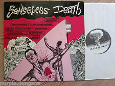 SENSELESS DEATH - LP US Hardcore  Sacred Denial - Attitude  CANCEROUS GROWTH