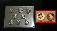 MICKEY MINNIE MOUSE PLUTO MINTS Bite Size Chocolate Candy Soap Mold