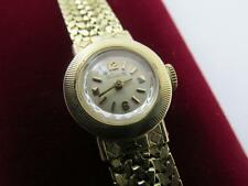 Vintage Retro 14k Solid Yellow Gold 17 Jewel Ladies LeCoultre Watch Bracelet