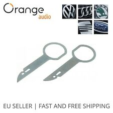 High Quality Car Radio Removal Tool Key Kit Set for VW Audi Skoda Seat Ford