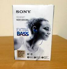 Sony MDR-XB50BS Extra Bass Bluetooth Sports Splashproof In-Ear Headphones -Blue