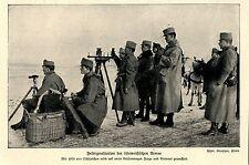 1914 Kampf um Przemysl * Feldsignalstation der k.u.k.Armee *  WW1