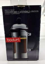 Bodum French Press CHAMBORD Coffee Maker Cafetiere 3 Cup 0.35l 12fl oz - Chrome