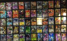 100 Pokemon CARD LOT RARE, COM/UNC, HOLO & GUARANTEED EX, MEGA OR FULL ART