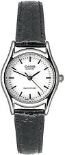 Casio LTP1094E-7A Ladies Casual Analog Dress Watch Genuine Leather Band Quartz