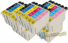 30 T0801-6/T0807 non-oem Hummingbird Ink Cartridges fits Epson Stylus PX710W