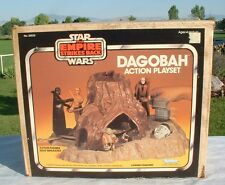 ORIGINAL BOX for Yoda's Dagobah Playset Vintage 1980 Star Wars C6 PRETTY NICE