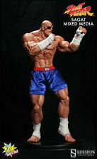 Pop Culture Shock Sideshow SAGAT Street Fighter 1/4 scale statue