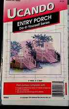 Entry Porch UCANDO Nat'l Plan Serv B2063 Vintage DIY