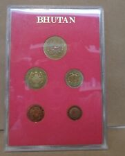 1979 Bhutan ps6 proof set ngultrum chhertum no box