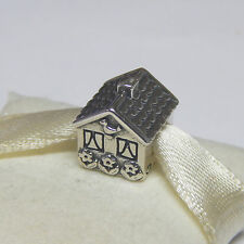 New Authentic Pandora Charm 791267 Home Sweet Home Bead  Box Included