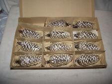 11 Zapfen aus Lauscha für Weihnachtsbaum im OK Christbaum Weihnachtsbaumschmuc