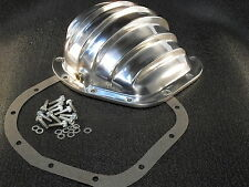 REAR END DIFFERENTIAL POLISHED ALUMINUM COVER FORD 10.25/10.5 STERLING 12 BOLT