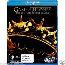 Game of Thrones COMPLETE Season 2 : NEW Blu-Ray