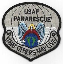 USAF PARARESCUE JUMPER MILITARY PATCH THAT OTHERS MAY LIVE - AIR FORCE