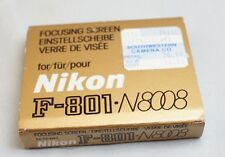 Nikon Focusing screen for N8008 F-801  cameras matte K type