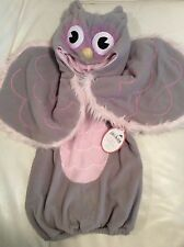 Pottery Barn Kids Owl Halloween Costume 6-12 Mo NWOT! Pink & Grey