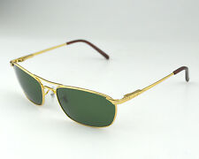 Ray-Ban RB3132 001 Gold Metal Frame/Green Classic Lens Unisex Sunglasses 56mm