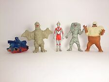 "Free Shipping Ultraman Kaiju 1-3"" Figure 5pcs Official Bandai Japan k#13710"
