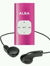 Alba 4 Go MP3 Lecteur de musique rose