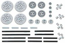 LEGO 46pc Technic gear & axle set (Mindstorms nxt pack robot rcx lot hobby) NEW!