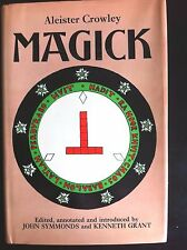 MAGICK 1974 Aleister Crowley 1st First US Authorized Edition w/ Dust Jacket